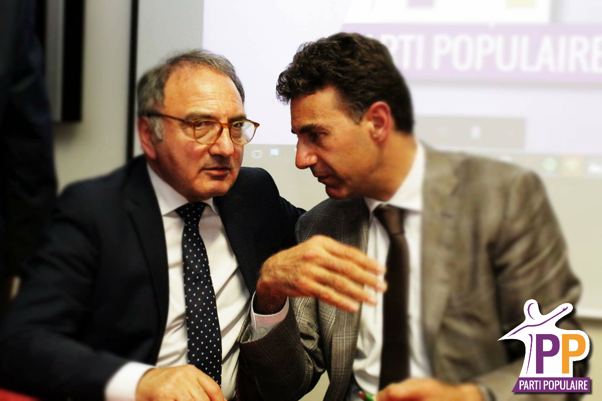 Aldo Carcaci et Alexandre del Valle
