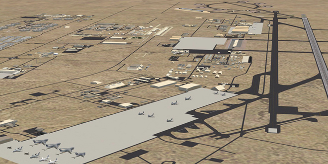 La base aérienne Al Oudeid
