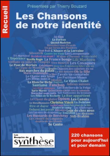 Les chansons de notre identité, présentées par Thierry Bouzard (Éd. Synthèse)