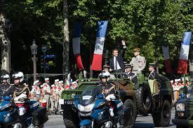 Emmanuel Macron, le 14 juillet 2017.