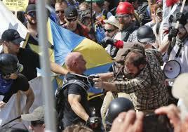 Face à face à Charlottesville…