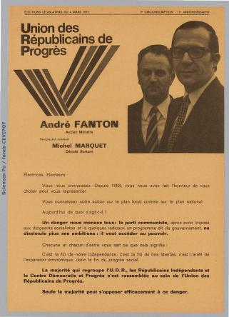 Fanton à Paris en 1973.