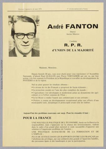 Fanton à Poitiers 1978