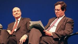 Jean-Louis Debré et Jacques Chirac