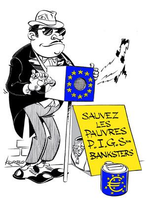 Korbo UE banksters