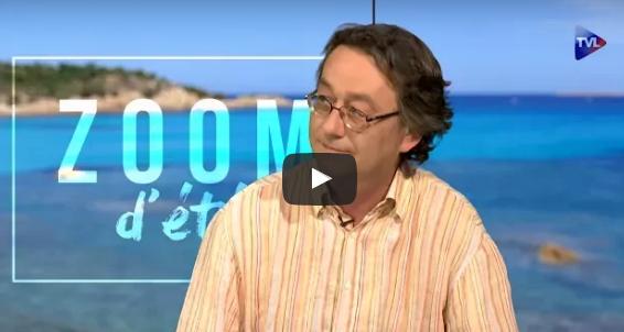 Nicolas Gauthier lors du Zoom d'été sur TVLIbertés.