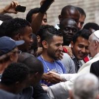 Pape François et immigrés