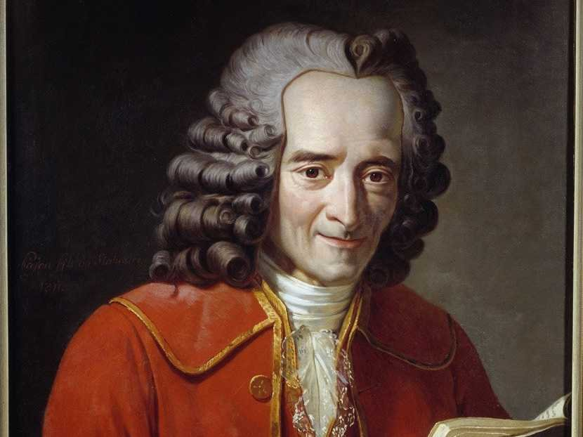 François-Marie Arouet, dit Voltaire.