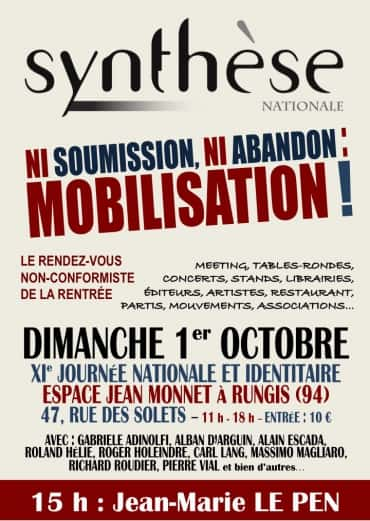 11e Journee Syntese Nationale