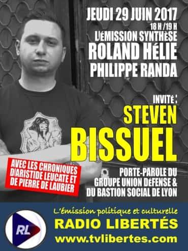 31 invite Steven Bissuel