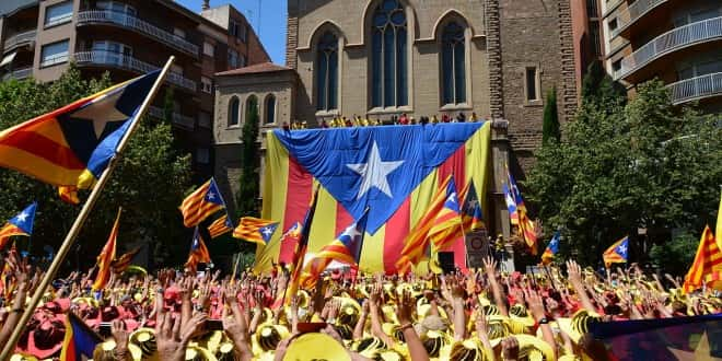 Catalogne manifestations
