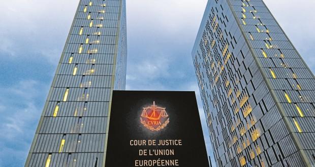 La Cour de justice de l'Union européenne.