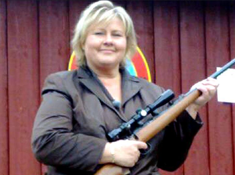 Erna Solberg.