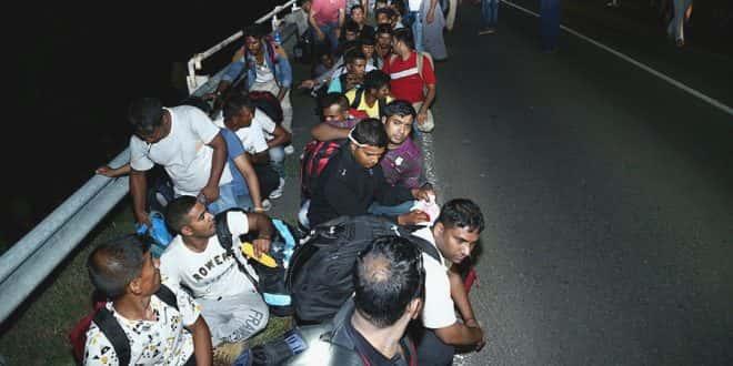 Migrants Hongrie