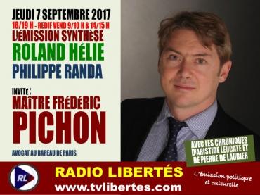 RL invite Frederic Pichon