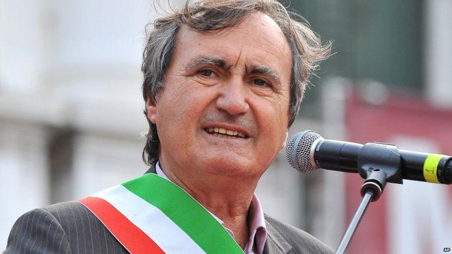Le maire de Venise Luigi Brugnaro.