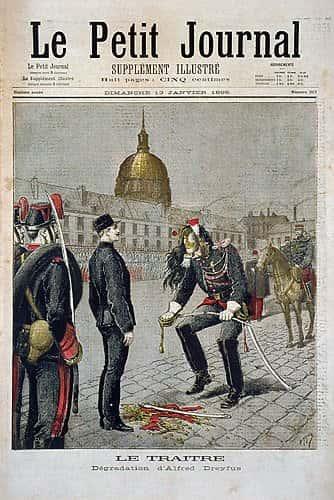 """La célèbre couverture du """"Petit Journal"""" consacré à Dreyfuss."""