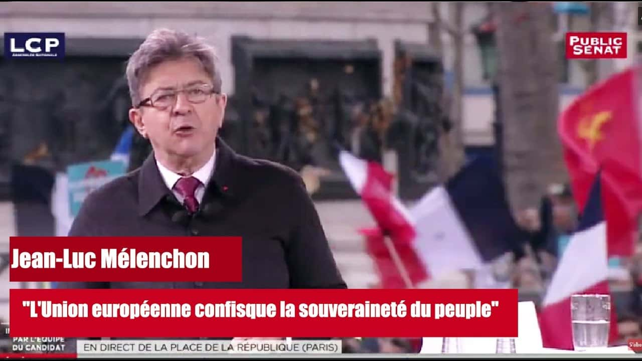 Melenchon Union europeen