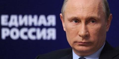 Russie Unie, le parti proche de Vladimir Poutine.
