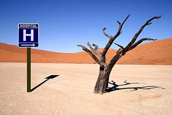 désert medical