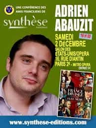Adrien Abauzit conference Synthèse.