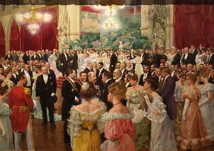 Bal à l'Hôtel de ville de Vienne (Wilhelm Gause, 1904).