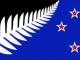 Drapeau de la Nouvelle-Zélande.