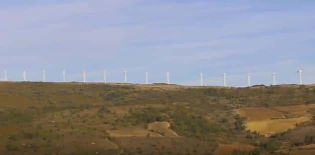 Éoliennes.