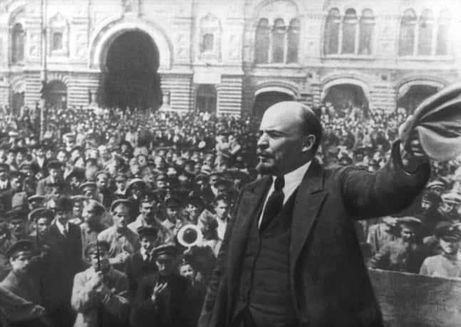 Lénine - Révolution d'Octobre.