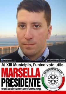 Luca Marsella, candidat de CasaPound.