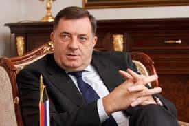 Milorad Dodik, le président de la République serbe de Bosnie.