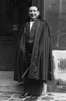 """Pierre Benoit, membre de l'Académie française, dont les romans d'aventures, au premier rang desquels """"L'Atlantide"""", ont connu un succès considérable dans la première moitié du XXe siècle."""