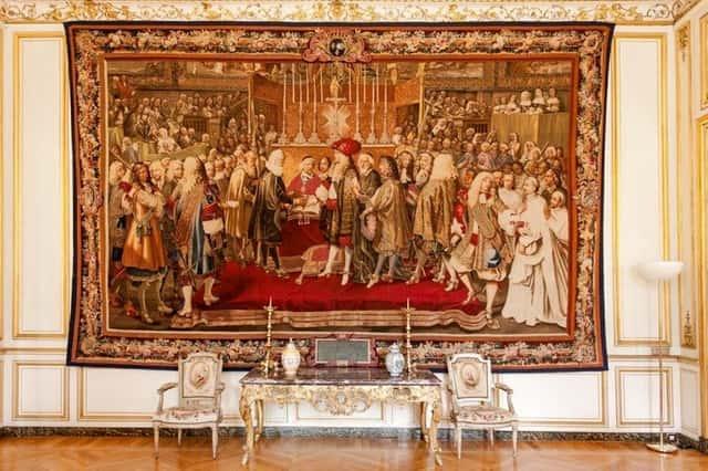 Le renouvellement de l'alliance entre Louis XIV et les envoyés de la Confédération,