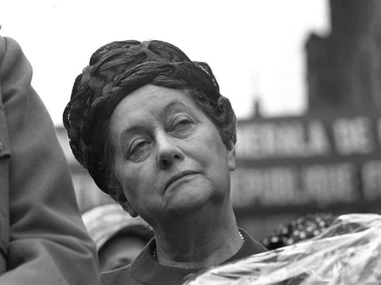 Yvonne De Gaulle surnommée « Tante Yvonne ».
