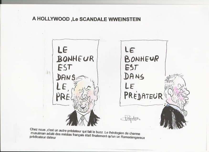 dessin Pinatel weinstein