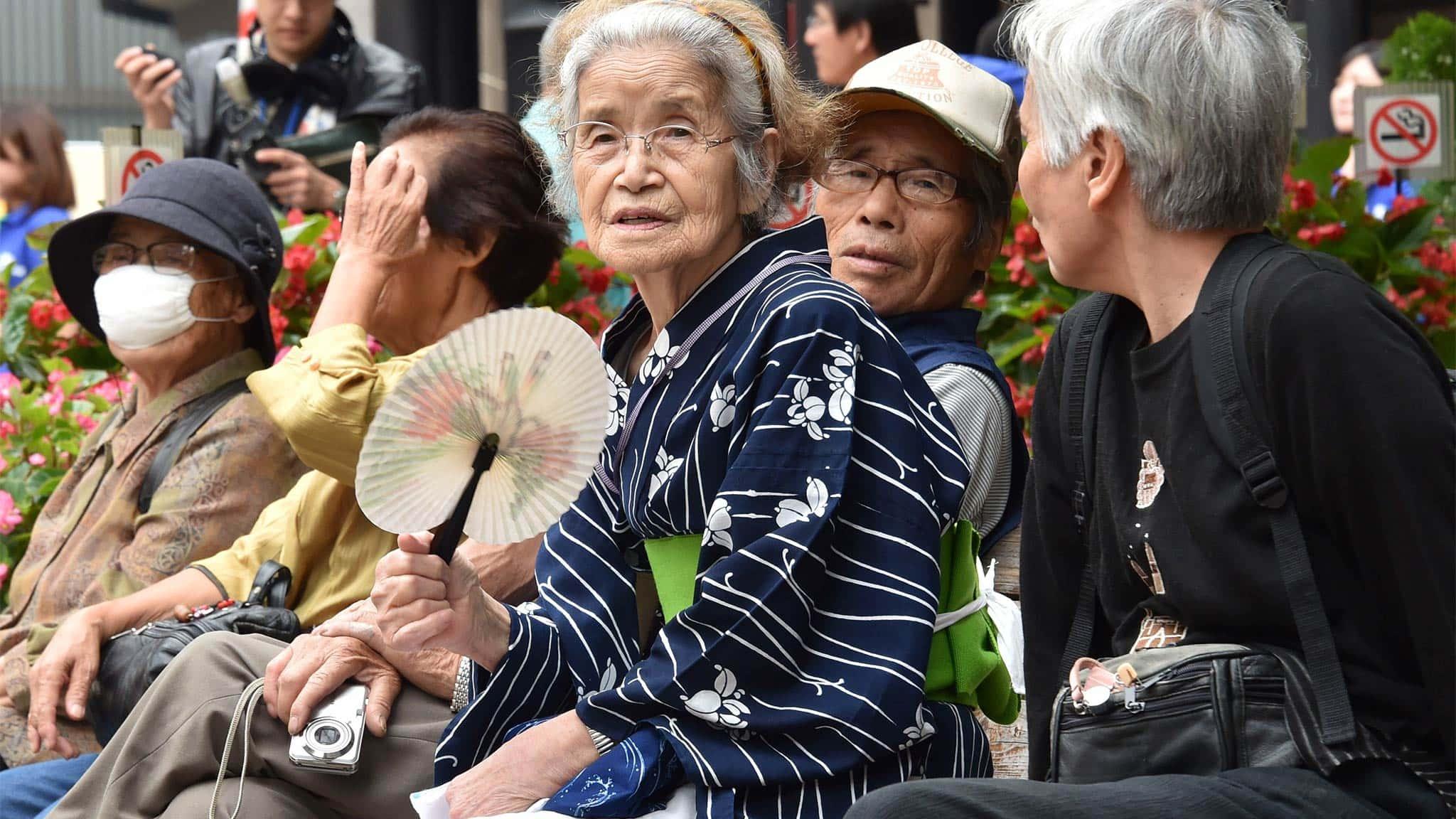 vieillissement de population Japon