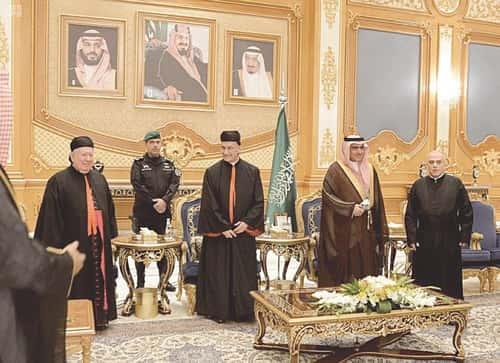 La visite du patriarche maronite à Riyad est une première historique.