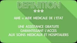 AME - Aide Médicale de l'État