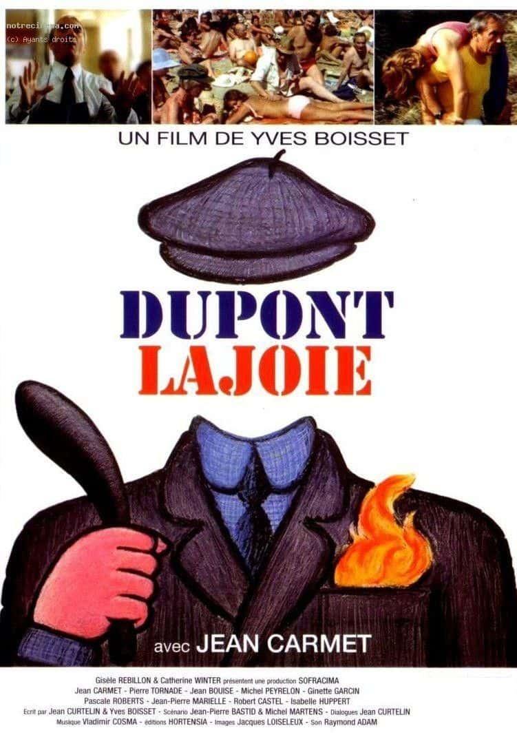 Affiche Dupont Lajoie