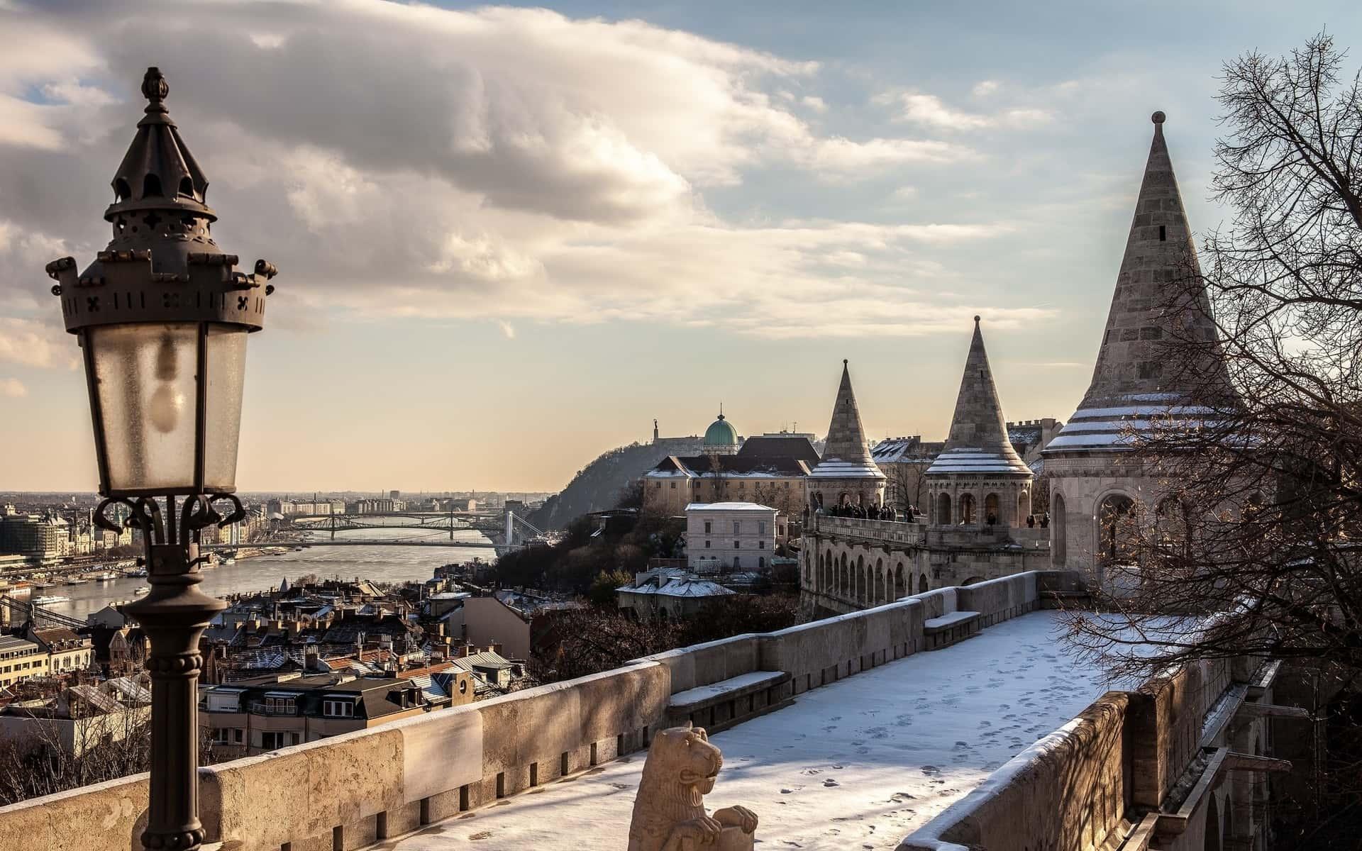 Budapest vue depuis le Bastion des pêcheurs.