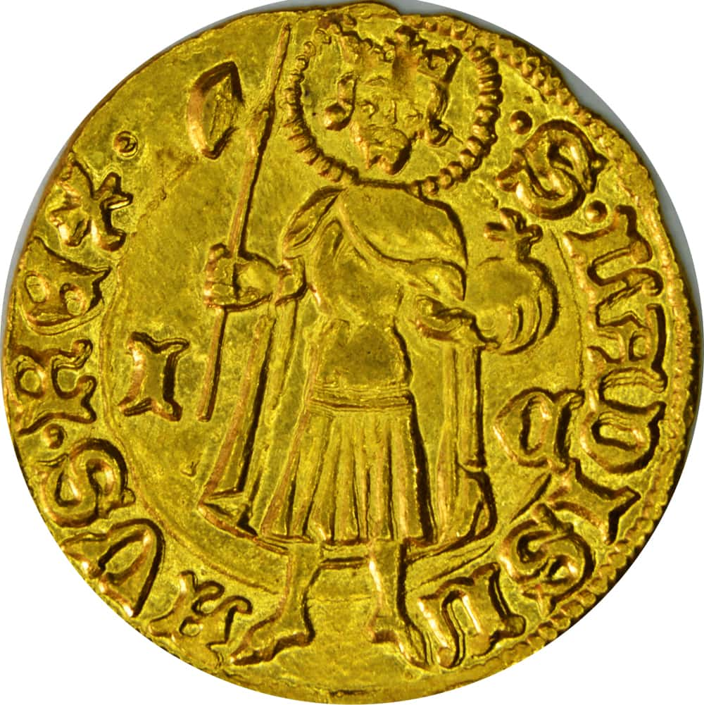 Florin en or hongrois de Sigismond de Luxembourg.