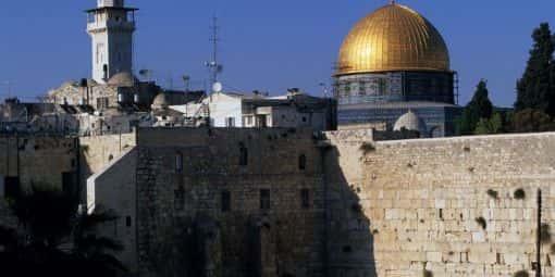 Jérusalem. Cité triplement sainte.