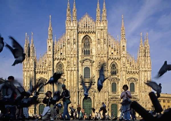 Cathédrale de Milan, piazza Duomo.