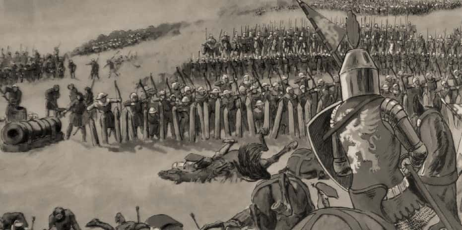 Bataille de Crécy 26 août 1346.
