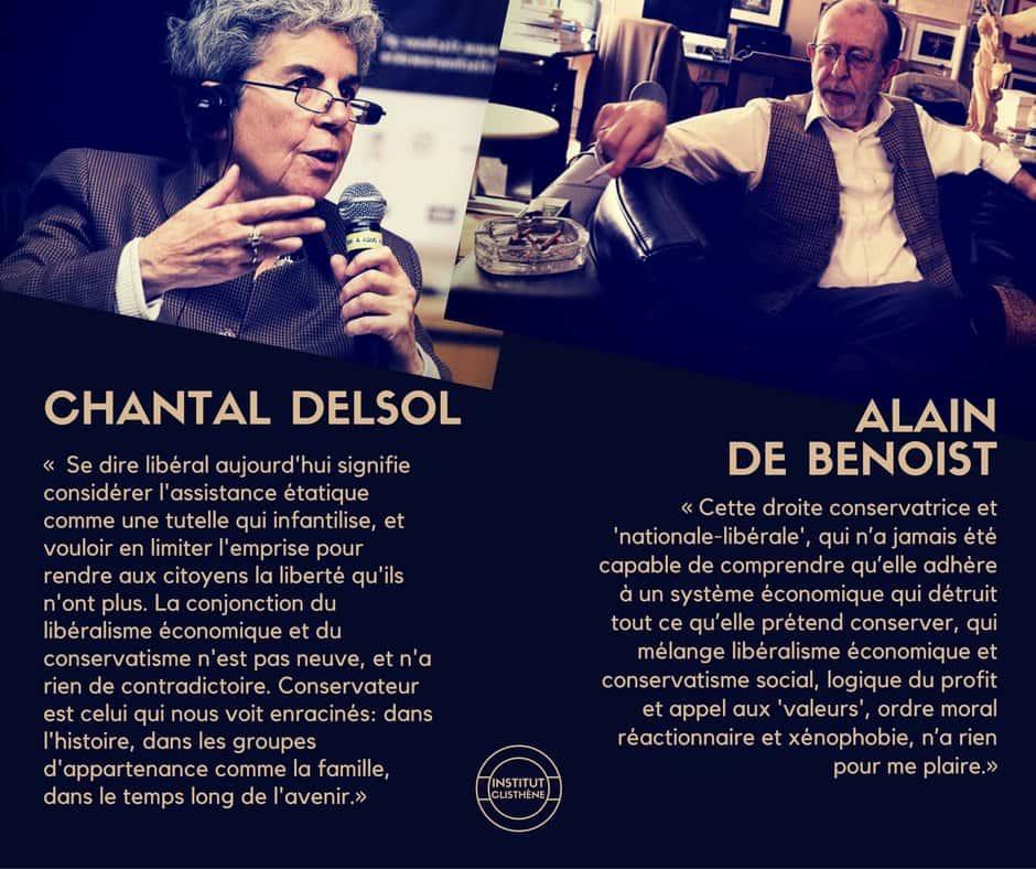 Chantal Delsol - Alain de Benoist