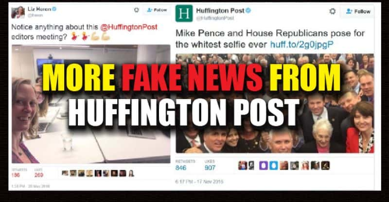Huffington Post Fake news