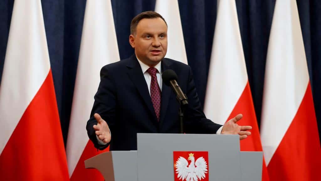 Le président polonais Andrzej Duda.
