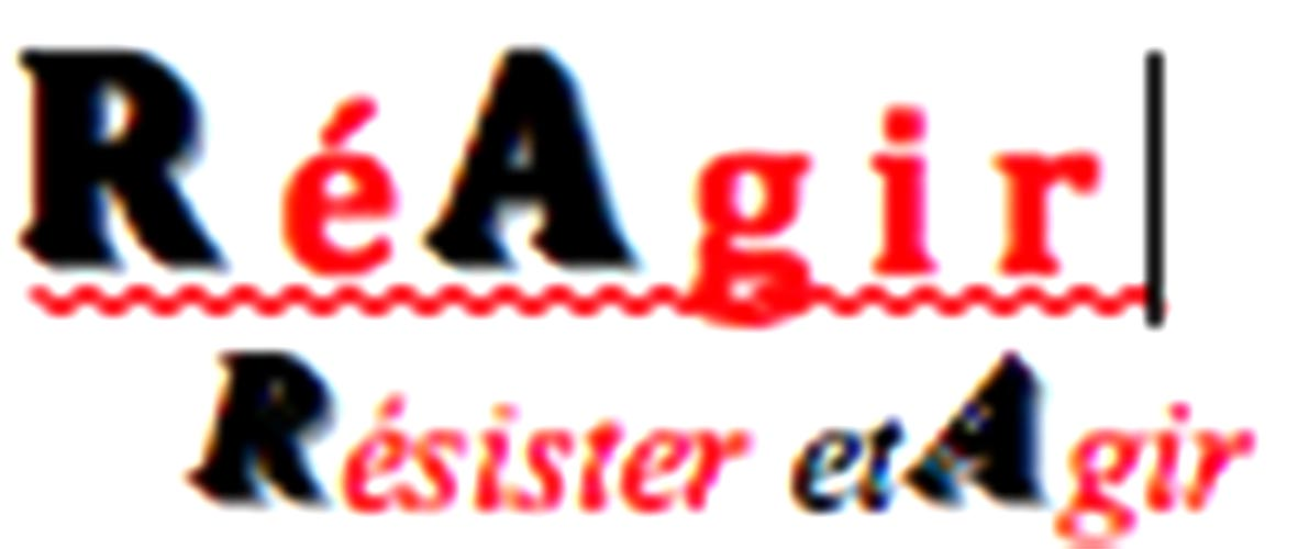 Logo Réagir Résister et Agir