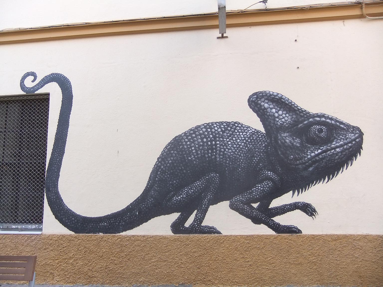 Street art à Malaga.
