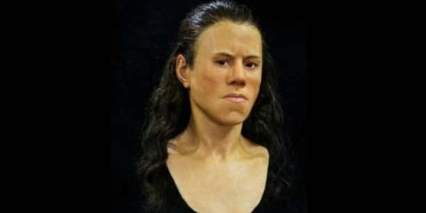 femme grecque visage reconstitue